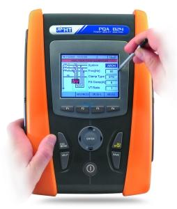 Трёхфазный регистратор-анализатор качества электроэнергии АКЭ-824